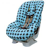 Itzy Ritzy Baby Car Seat Cover