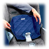 Car Seat Cushion by Kiddopotomus - Piddle Pad
