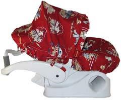 Hula Moon Baseball Infant Car Seat Carrier Cover