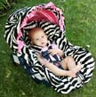 Infant Car Seat Cover by Baby Bella Maya