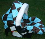 Infant Car Seat Cover by Tat'r Tots